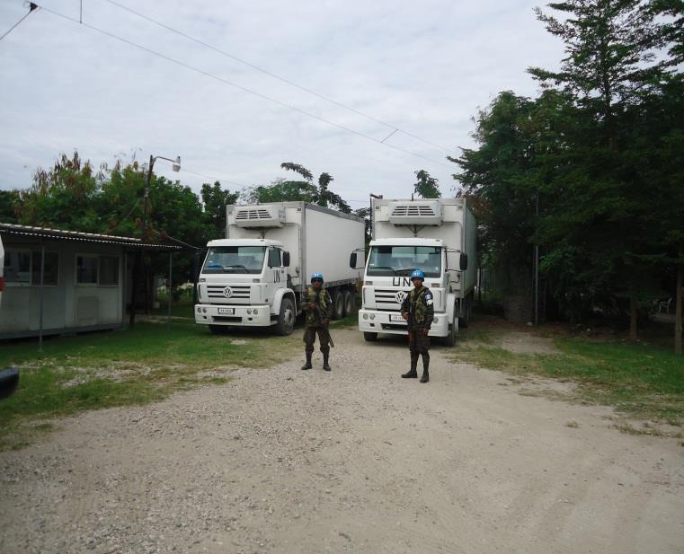 Seguridad de convoy
