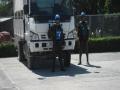 Seguridad de convoy del contingente