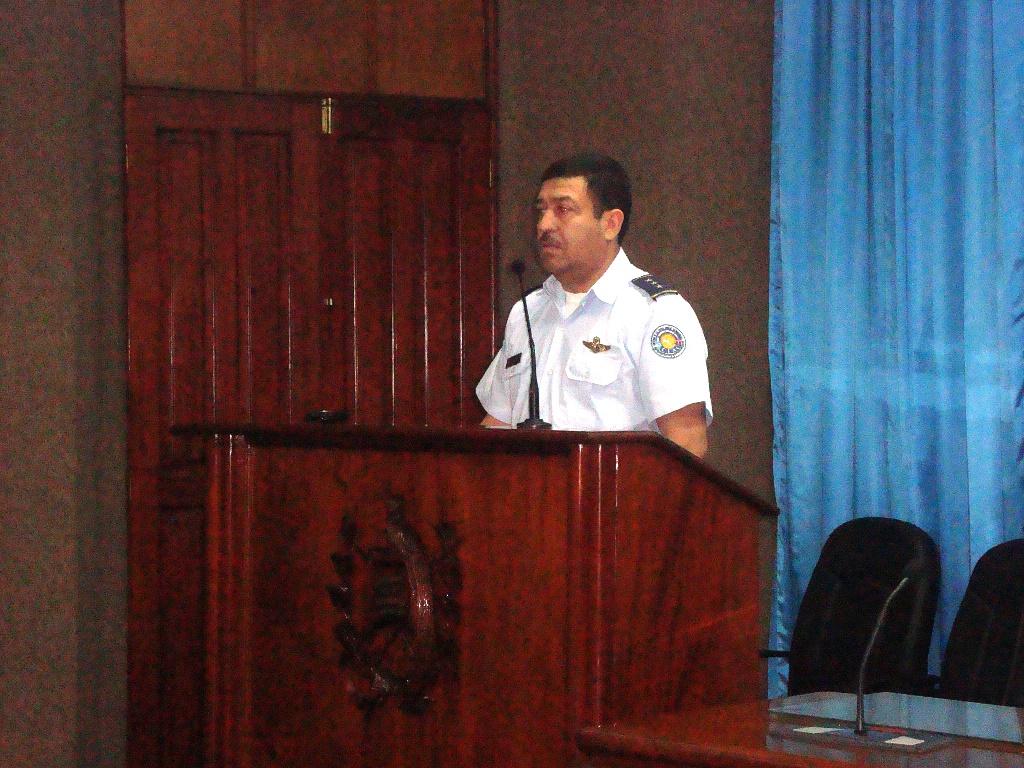 Exposicion Representante Honduras