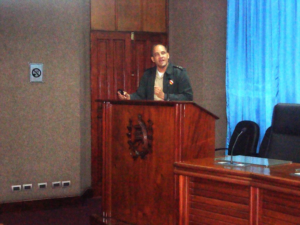 Exposicion Representante RD DDHH