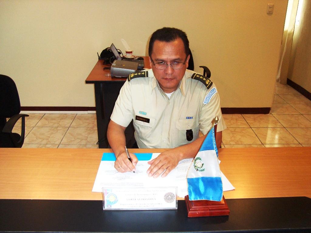 Firma del Acta, Guatemala