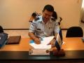 Firma del Acta, Honduras