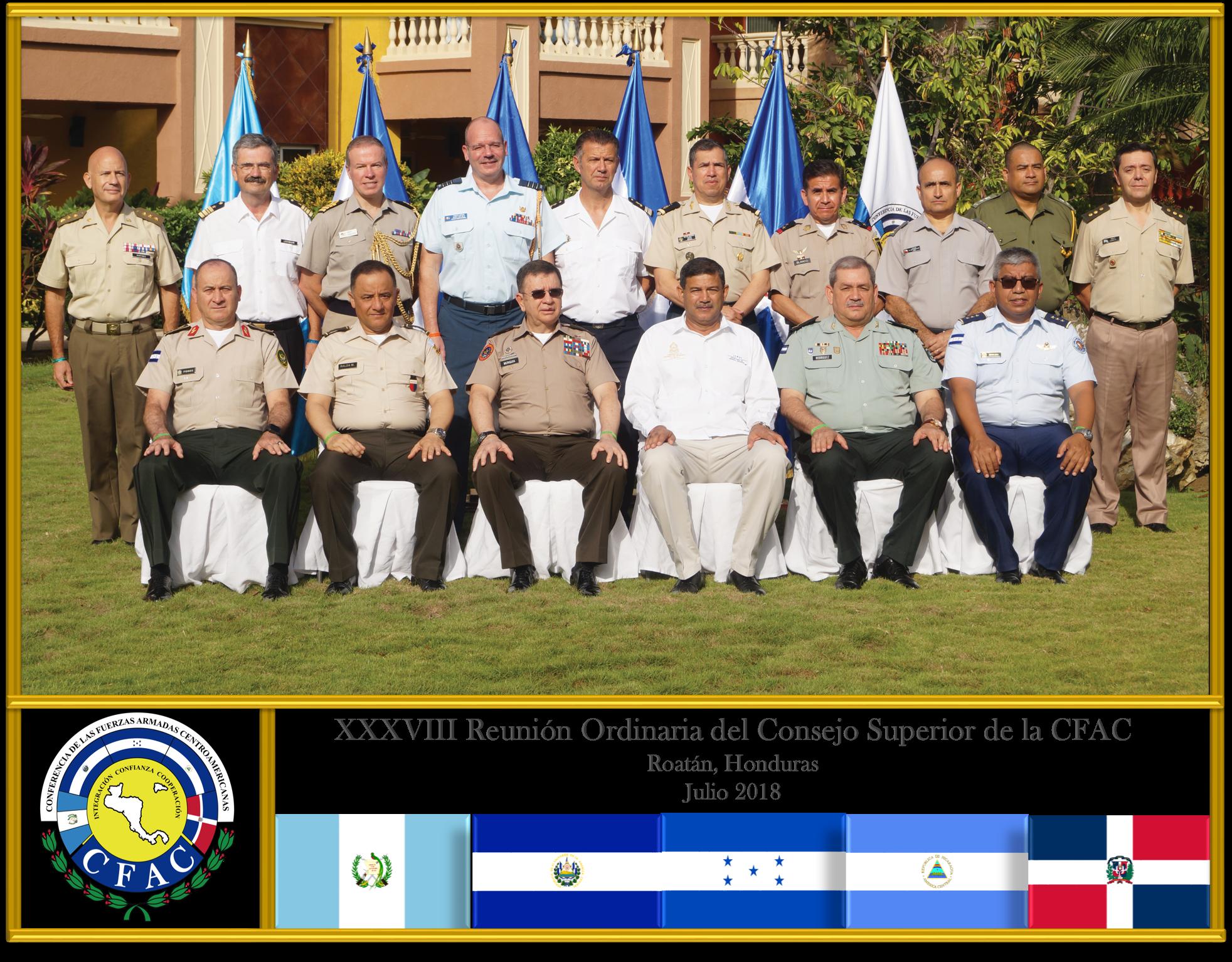 Foto Oficial Observadores XXXVIII ROCS