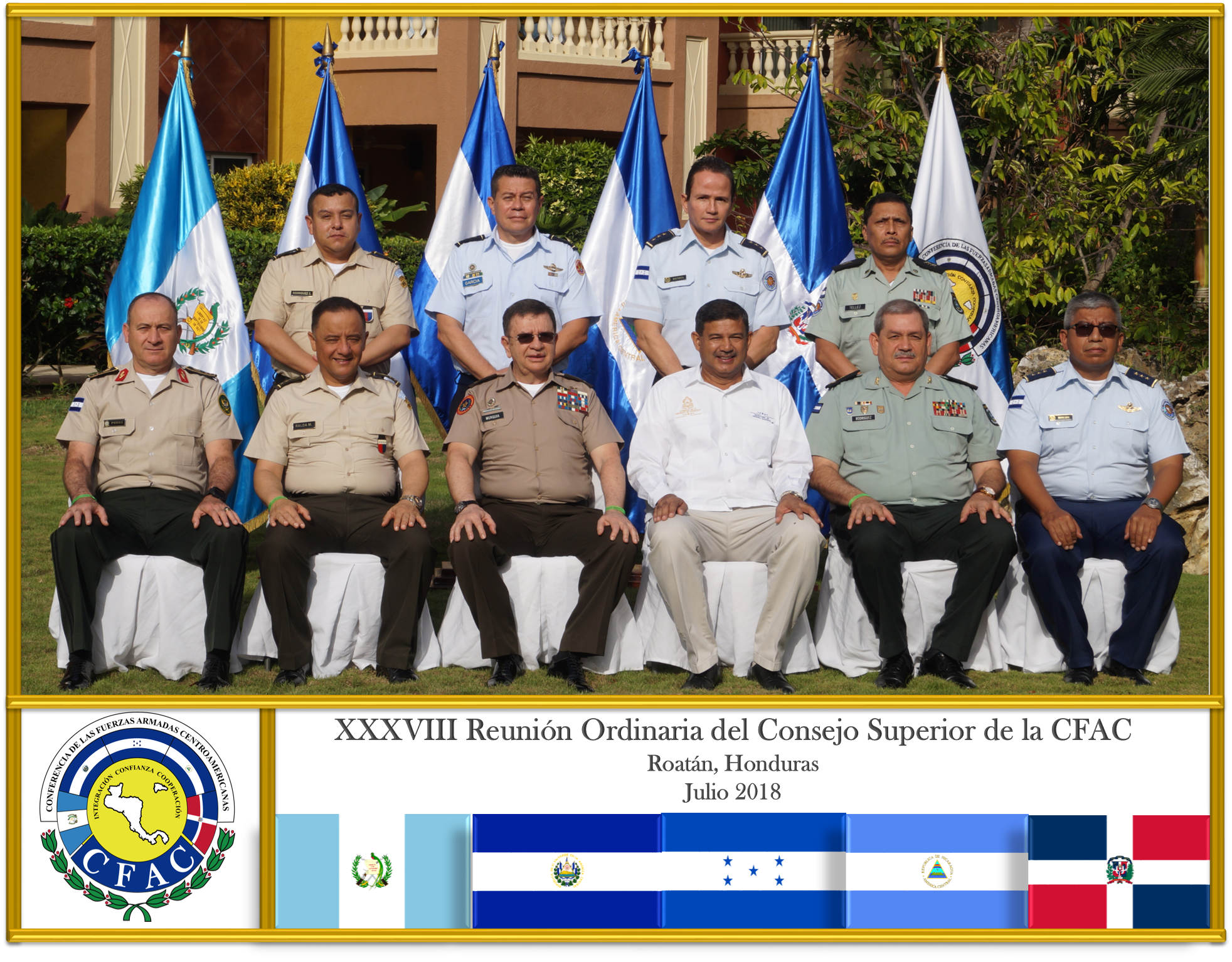 Foto Oficial Representantes XXXVIII ROCS